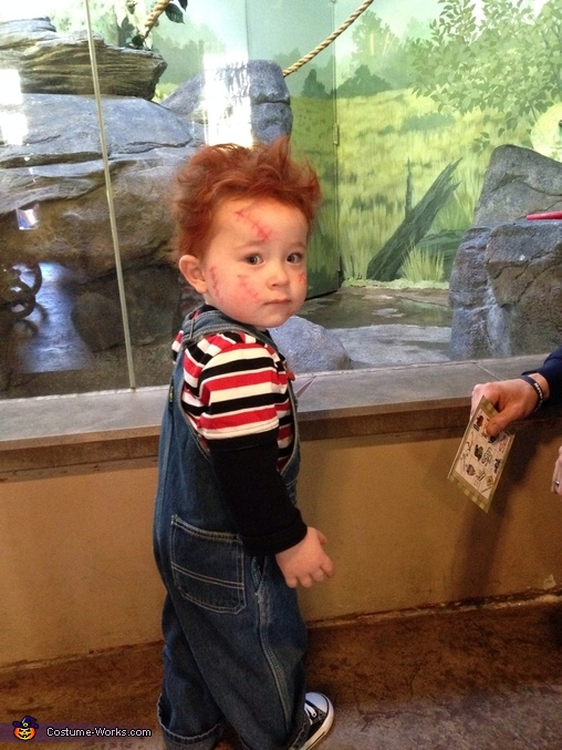 Chucky at boo at the zoo, Baby Chucky Costume