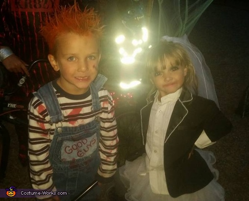 Chucky and Bride of Chucky, Chucky and Bride of Chucky Costume