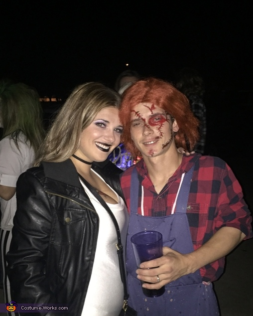 'Chucky and his Bride looking for the next victim ', Chucky and Bride of Chucky Costume