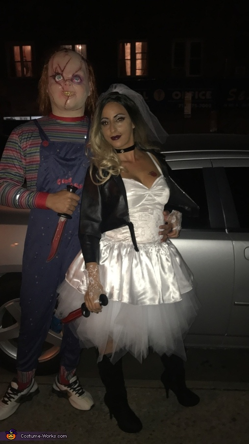 Chucky and his bride, Chucky and Bride of Chucky Costume