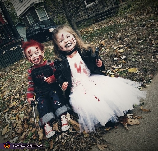 Chucky and Bride of Chucky Costume for Kids