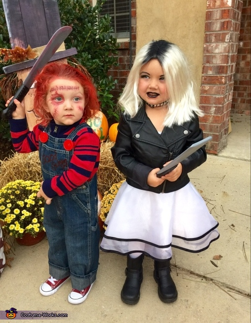Chucky and Chucky's Bride Costume