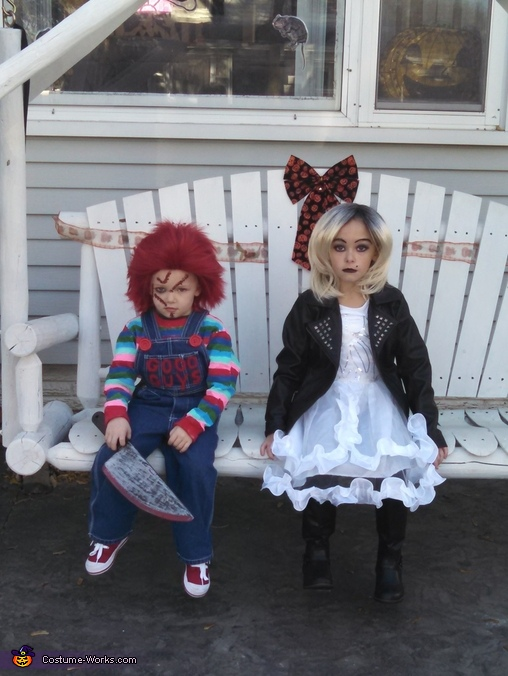 Child's Play Chucky and his Bride Costume for Kids
