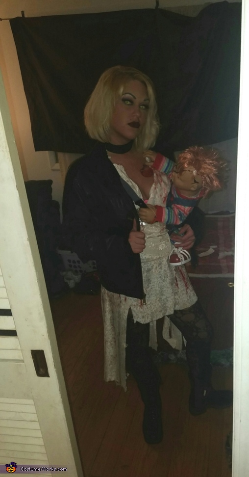 Chucky and his Bride Couple Homemade Costume