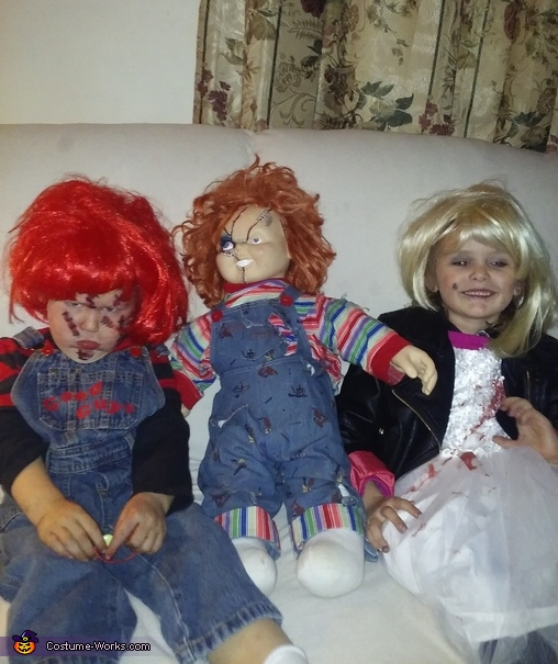 Chucky and the Bride Homemade Costume