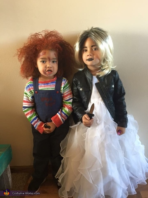 Child's Play Chucky and the Bride Costume