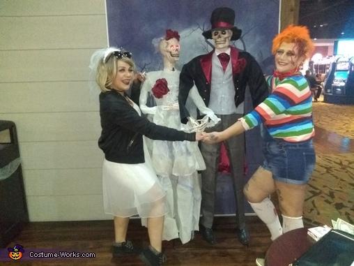 chucky and Tiffany, Chucky and Tiffany Costume