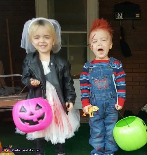 Child's Play Chucky and Tiffany Costume