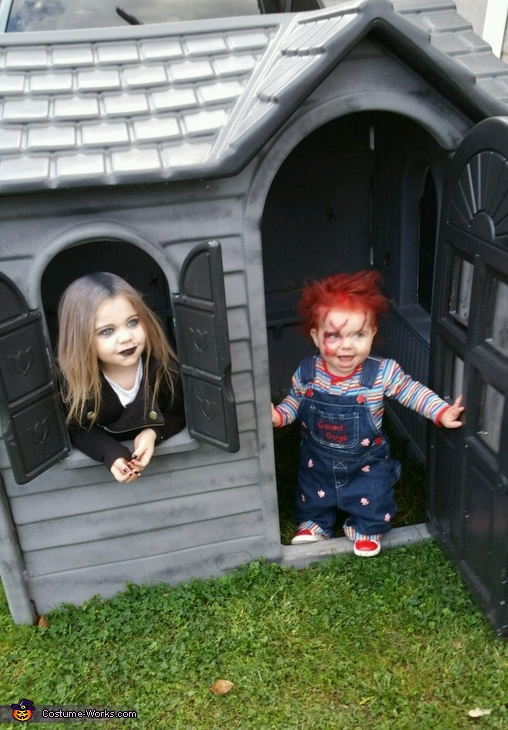 Chucky and Tiffany Costume