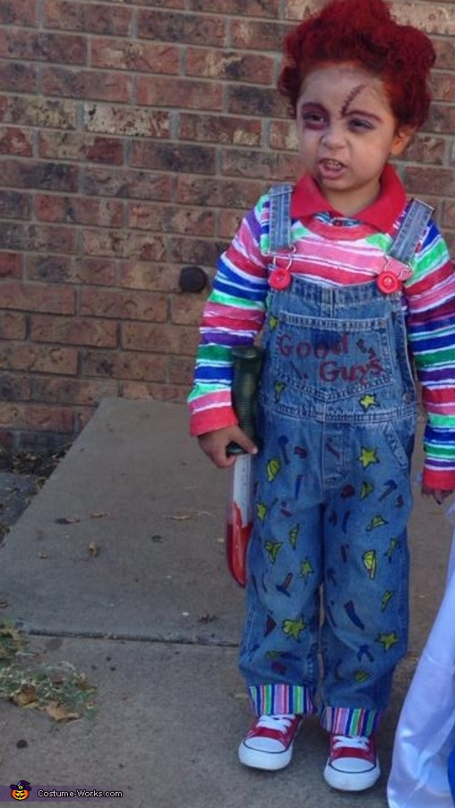 Chucky and Tiffany Bride Homemade Costume