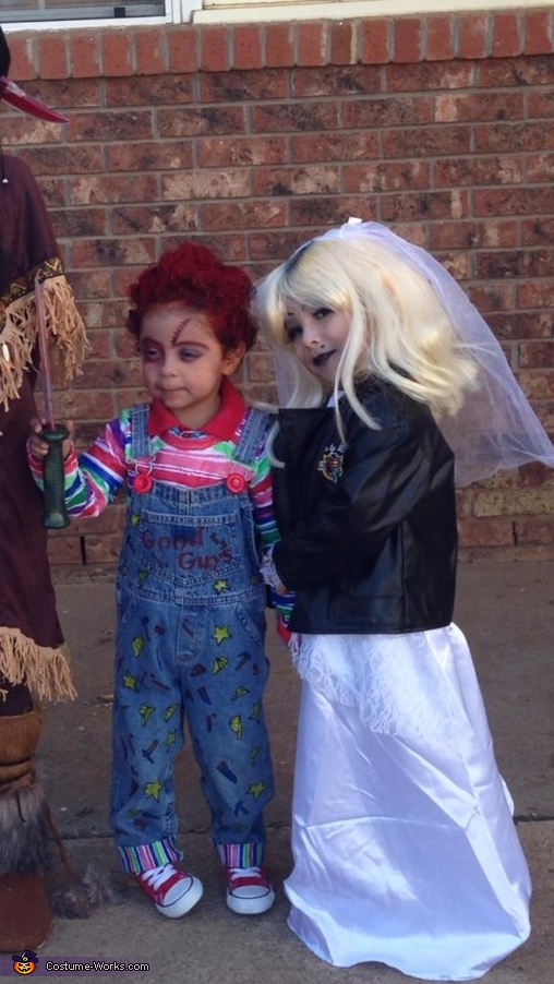Chucky and Tiffany Bride Homemade Costume