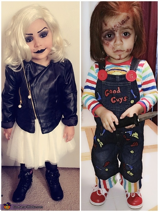 Bride of Chucky, Chucky and Tiffany Bride of Chucky Costume