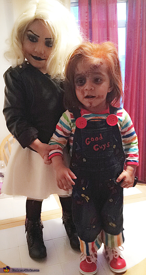 chucky and tiffany bride of chucky costume