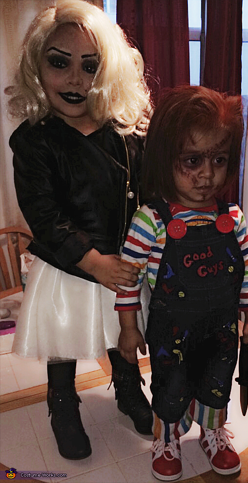 Chucky and Tiffany Bride of Chucky Homemade Costume