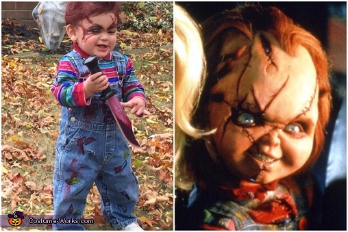 My Good Guy Doll, Chucky Baby Costume