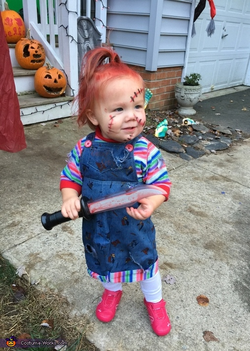 Chucky Baby Girl Costume