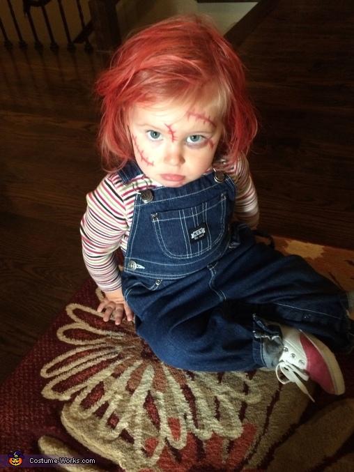 Chucky Baby Homemade Halloween Costume
