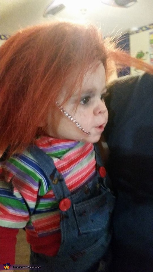 Chucky Baby Homemade Costume