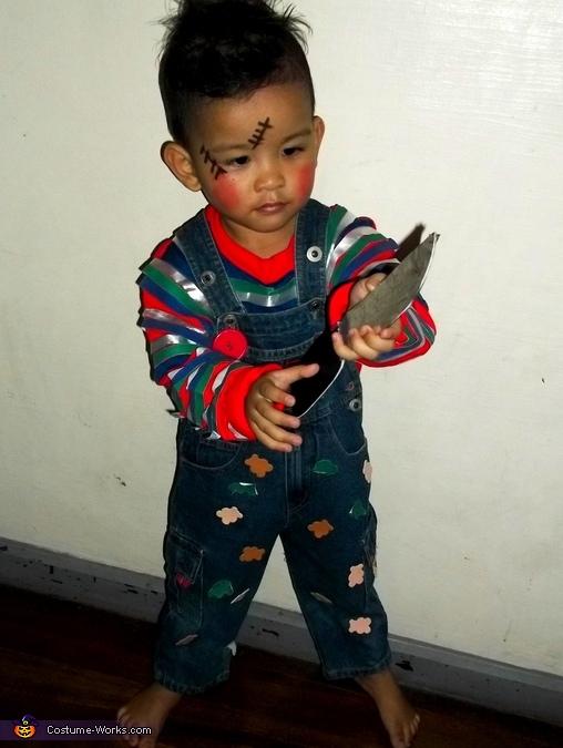Chucky Baby Doll Costume
