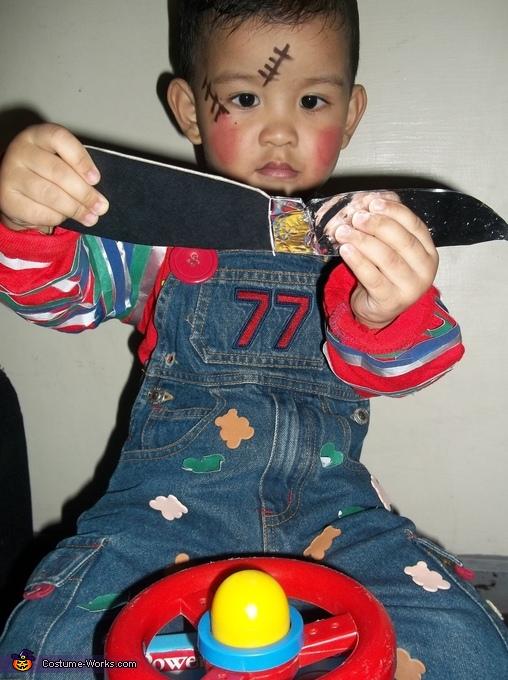 Chucky Baby Doll Homemade Costume