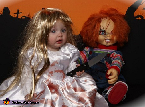 Bride of Chucky - Homemade costumes for girls