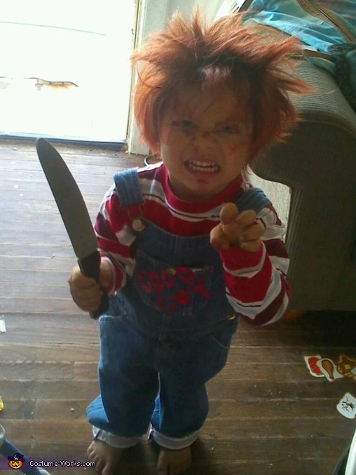 Childs Play Chucky Costume  sc 1 st  Costume Works : chuckie halloween costume  - Germanpascual.Com