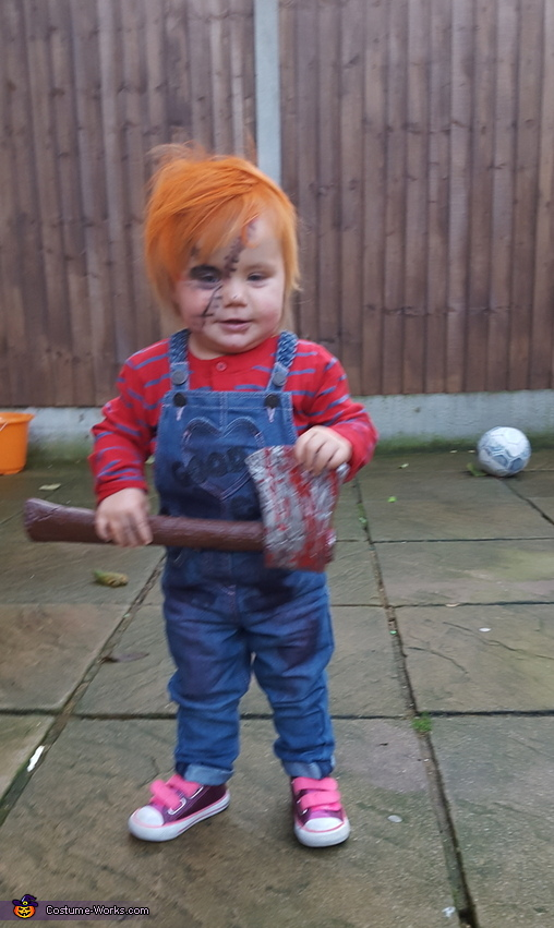 Chucky Doll Baby Costume