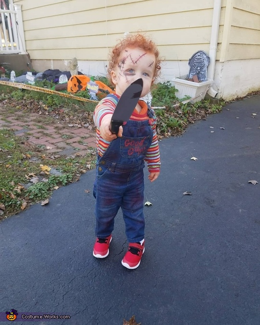 Good guy, Chucky Doll Costume