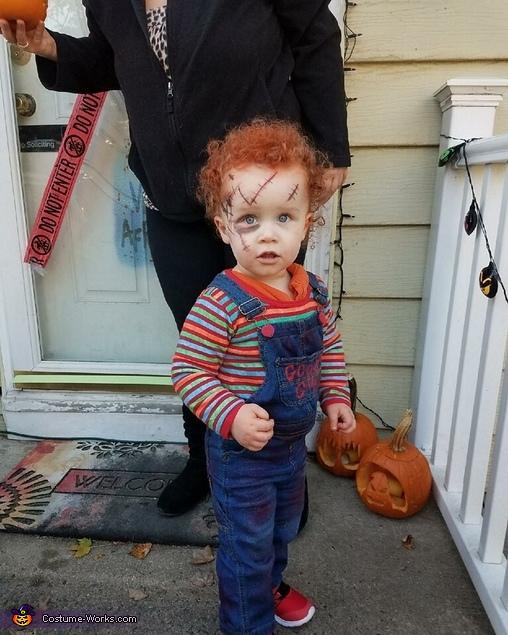 Chucky on the loose, Chucky Doll Costume