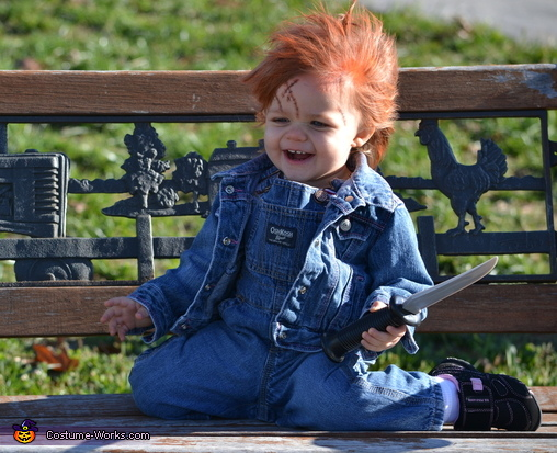 Chucky Doll DIY Costume for Babies