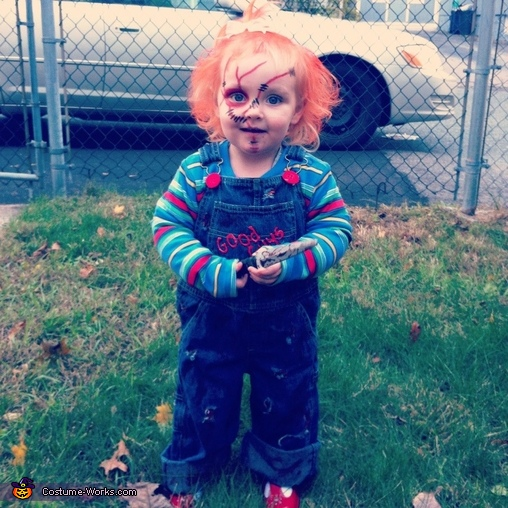 Chucky Doll - Homemade costumes for babies