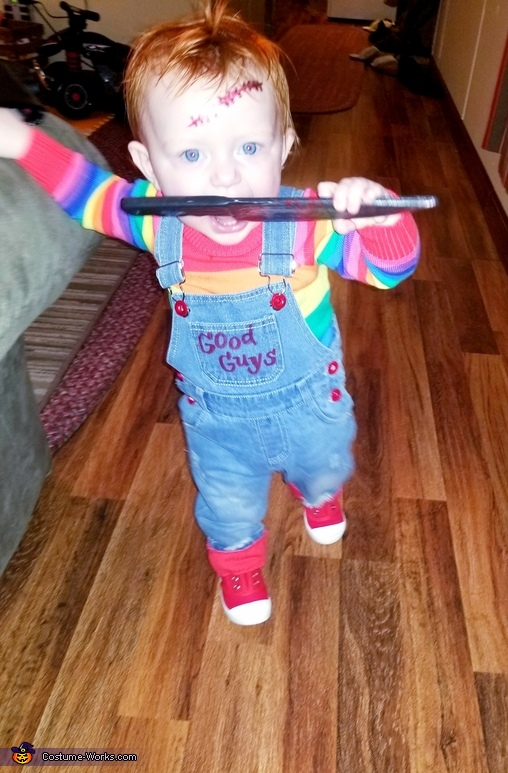 Chucky Doll Homemade Costume