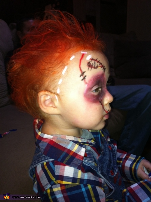 Baby Chucky Costume uk Chucky Doll Baby Costume