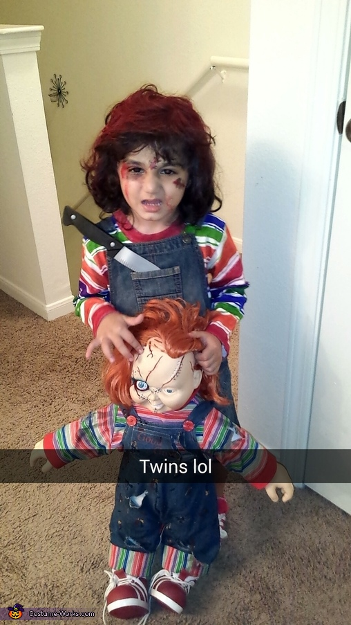 DIY Chucky Doll Costume