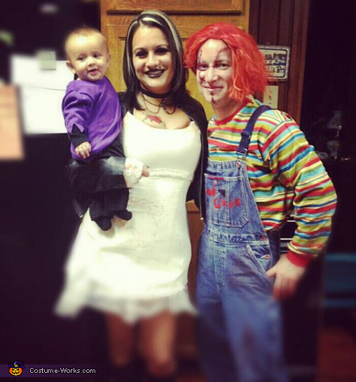 Bride of Chucky, Chucky and Seed of Chuck Family Costume