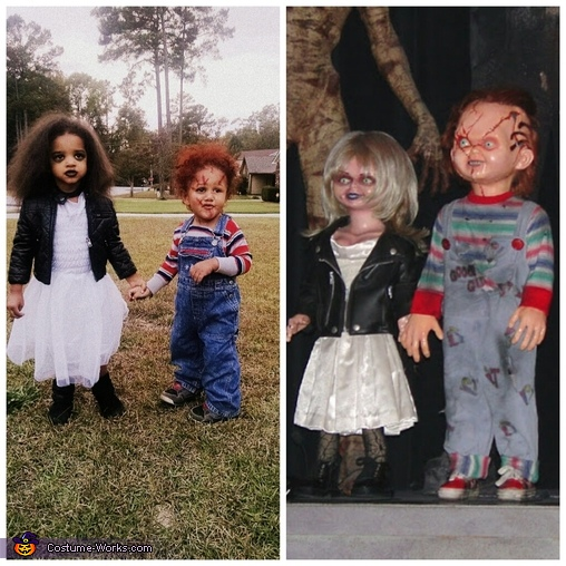 comparison , Chucky & Bride Costume