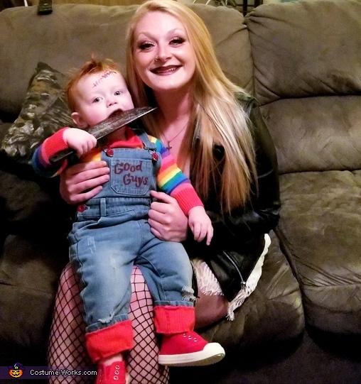 Chucky & Bride Homemade Costume