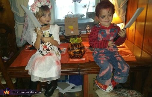 Chucky n Bride Costume