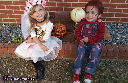 Chucky n bride #2, Chucky n Bride Costume