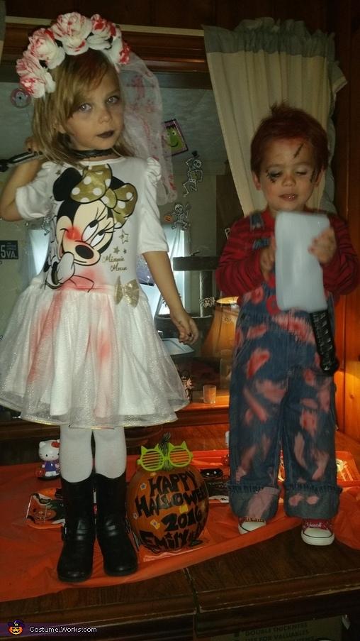 Chucky n Bride #5, Chucky n Bride Costume