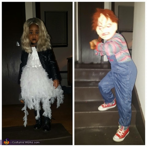 Chucky & his Bride Homemade Costume
