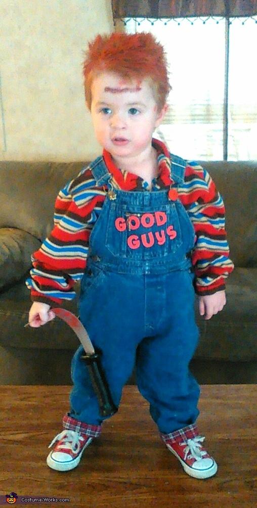 Chucky, Chucky & his Victim Costume