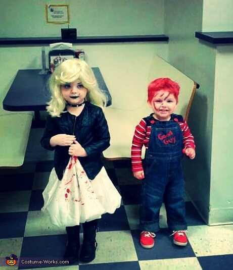 Chucky & the Bride Costume