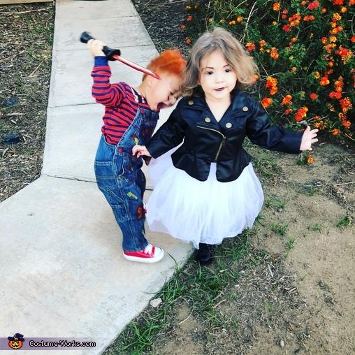 Chucky seems mad at Tiffany, Chucky & Tiffany Costume