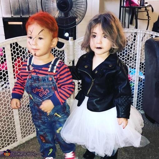 Chucky & Tiffany Costume