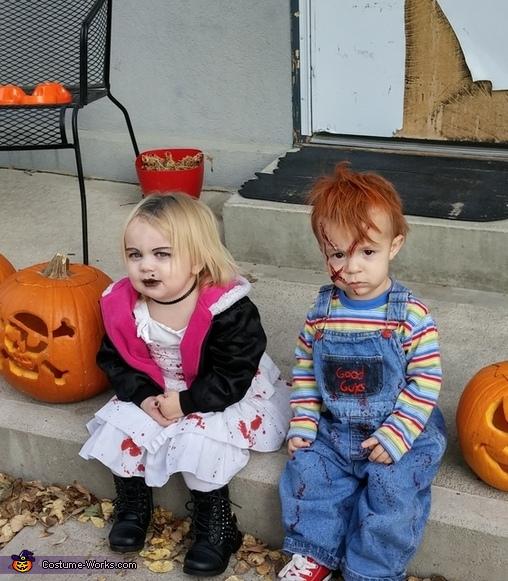 Child's Play Chucky & Tiffany Costume