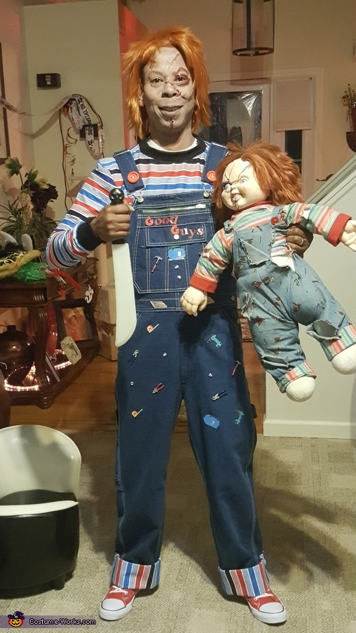 Chucky, The Bride of Chucky and The Seed of Chucky Homemade Costume