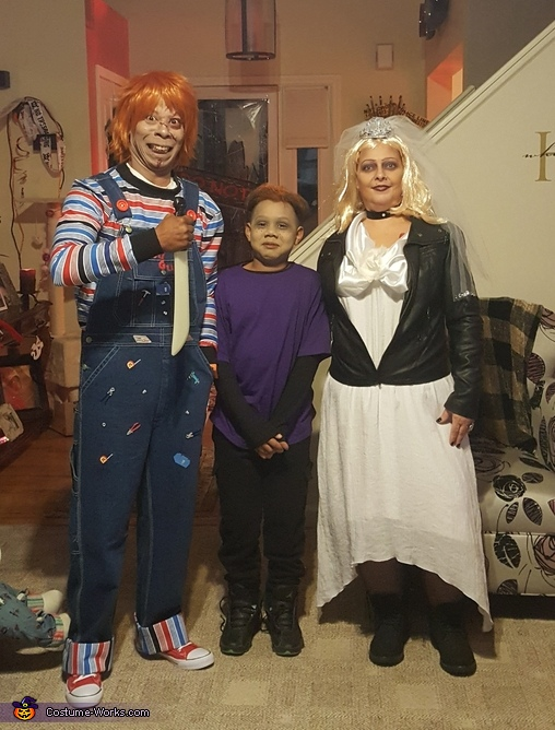 Chucky, The Bride of Chucky and The Seed of Chucky Costume