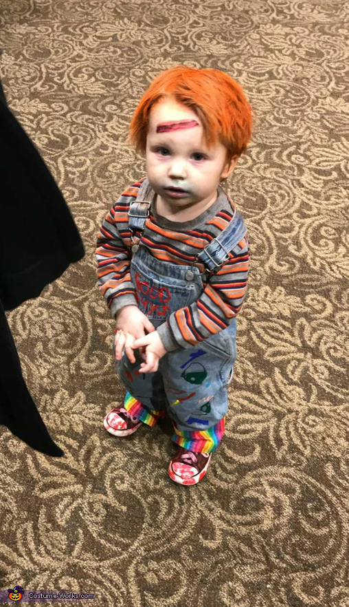 Chucky the Evil Doll Costume Chucky Costume For Kids