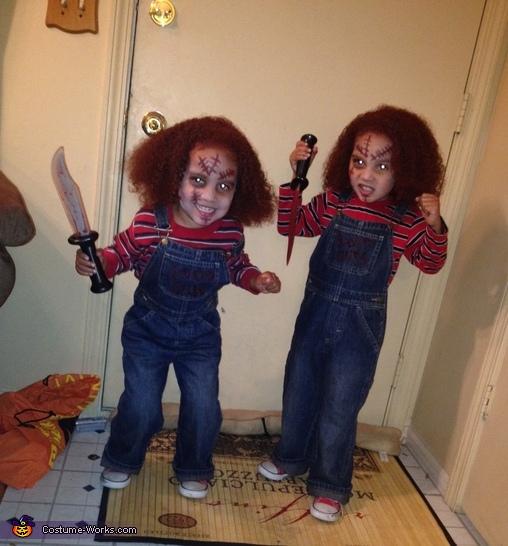 sc 1 st  Costume Works & Chucky Twin Dolls Costume